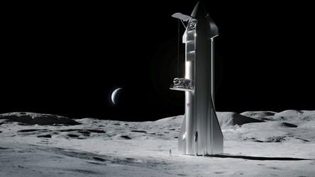 To niesamowite. SpaceX wygrało kontrakt NASA na budowę księżycowego lądownika!