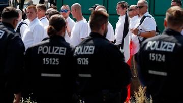 Starcia neonazistów z antyfaszystami w Berlinie. Ranny został policjant