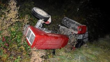Ciągnik przygniótł traktorzystę. Mężczyzna był nietrzeźwy