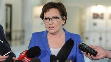 Kopacz wzywa premier Szydło i ministrów do debat