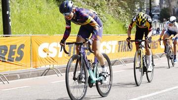 Dookoła Burgos: Katarzyna Niewiadoma bliska zwycięstwa etapowego