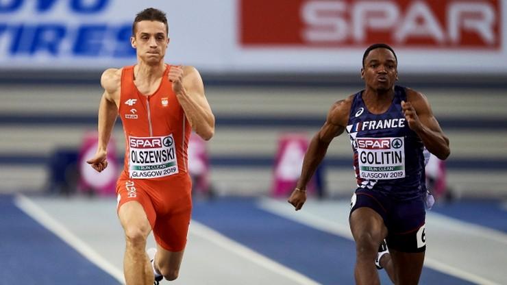 HME Glasgow 2019: Olszewski poza finałem biegu na 60 m