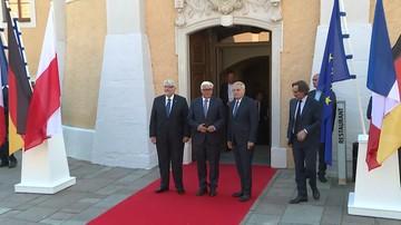 Spotkanie szefów MSZ Polski, Niemiec i Francji w 25. Rocznicę Trójkąta Weimarskiego