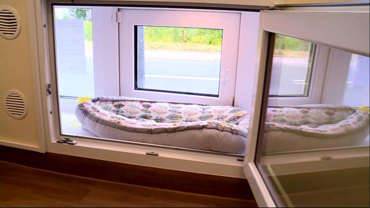 Dziecko znaleziono w Oknie Życia. Dzień później przyszedł po nie ojciec