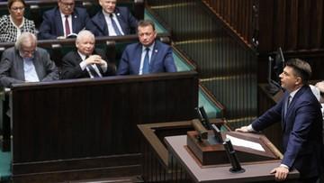 Petru, Tarczyński i Nitras z pensjami niższymi o połowę. Za nieparlamentarne wypowiedzi