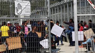 Grupa 70 Pakistańczyków rozpoczęła strajk głodowy na Lesbos