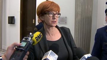 Protestujący w Sejmie po rozmowach z minister Rafalską: dzisiejsze spotkanie nic nie zmienia