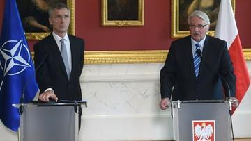 Szef NATO: zimna wojna to już przeszłość, niech tak zostanie