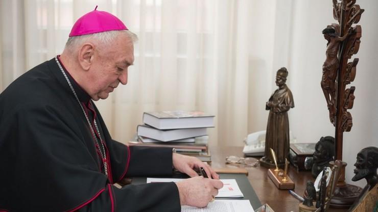 Biskup Suski odpiera zarzuty o krycie księży pedofilów