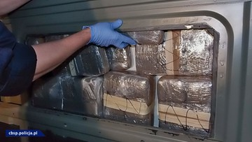CBŚP zatrzymało hiszpańskiego rezydenta gangu narkotykowego