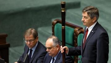 """""""Niech konsylium lekarskie orzeknie, czy osoba, która nic nie widzi może prowadzić obrady Sejmu"""""""