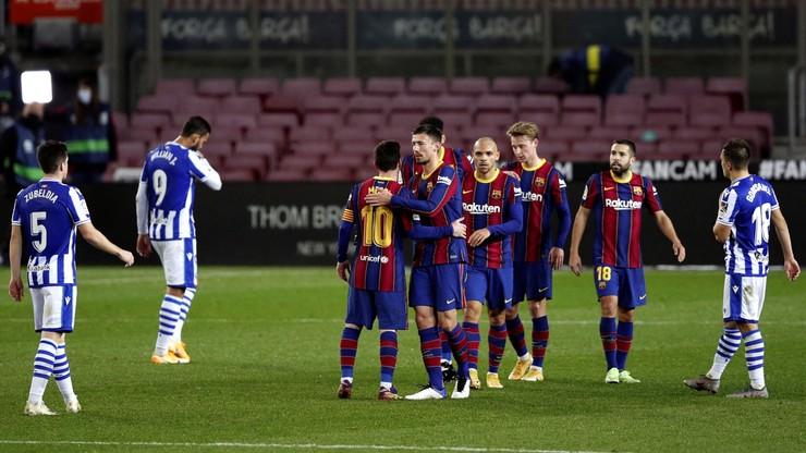 Barcelona wygrała z liderem La Liga