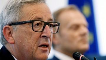 Juncker naciska na May ws. Brexitu