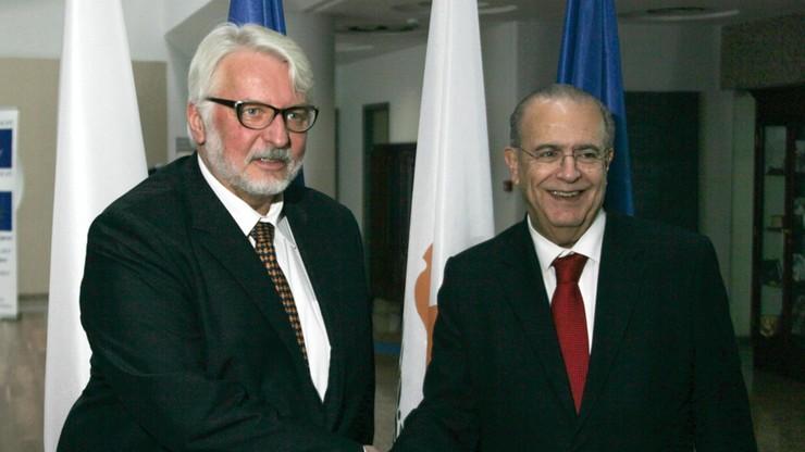 Waszczykowski: wspieramy proces zjednoczenia Cypru