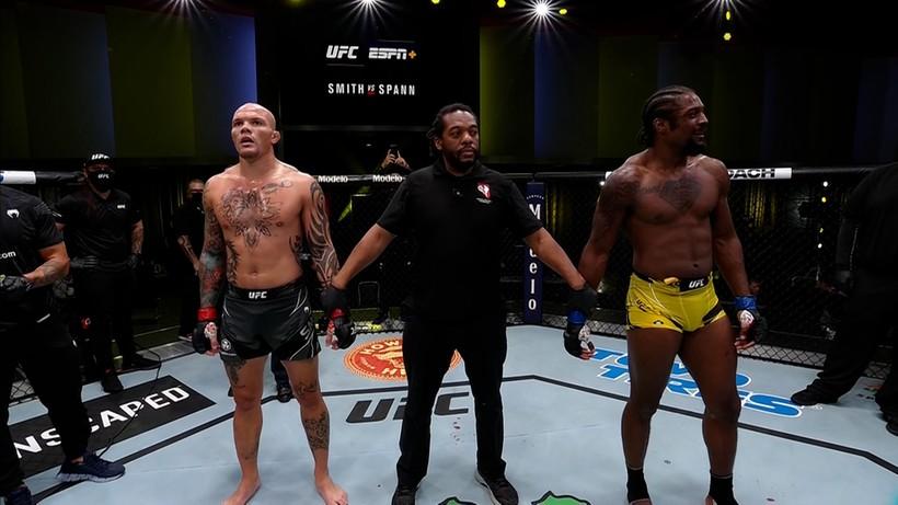 UFC Vegas 37: Anthony Smith udusił Ryana Spanna, cenna wygrana Ariane Lipski