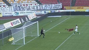 Fortuna 1 Liga: Pechowy gol w końcówce! Chojniczanka przegrała z Wartą