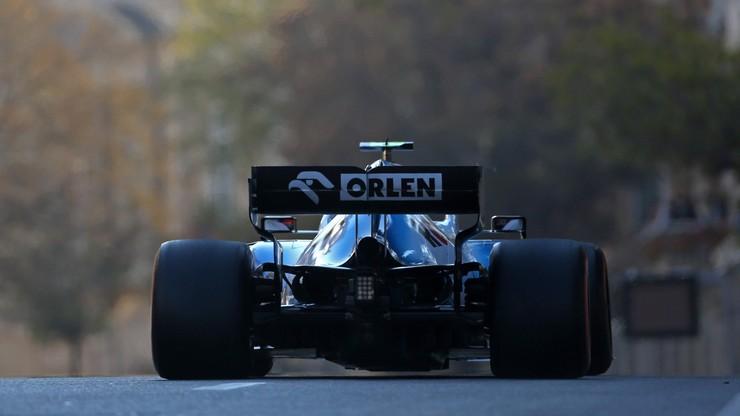 GP Azerbejdżanu: Ferrari najszybsze, Kubica 18. na ostatnim treningu w Baku