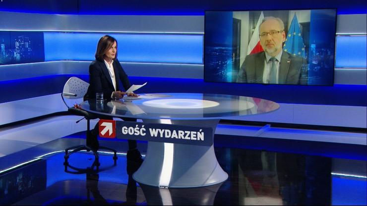 Minister zdrowia: żadne luzowanie obostrzeń nie powinno być wprowadzone