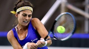 WTA w Berlinie: Magdalena Fręch wyeliminowana