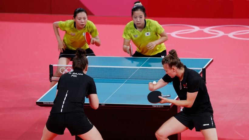 Tokio 2020: Polki odpadły w 1/8 finału rywalizacji drużynowej w tenisie stołowym
