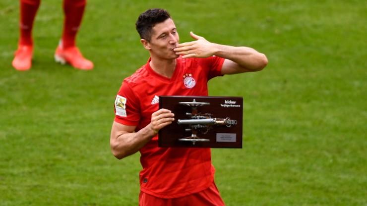 Lewandowski królem strzelców Bundesligi po raz czwarty