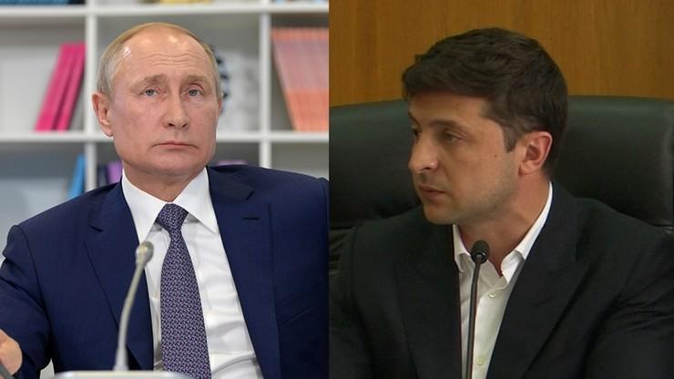 """Zełenski """"pilnie"""" rozmawiał z Putinem. """"Prezydent Rosji obiecał mi coś"""""""