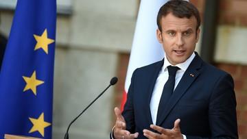 Macron domaga się od Erdogana uwolnienia francuskiego dziennikarza