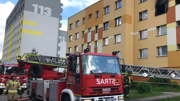 Piekary Śląskie. W pożarze zginął 62-letni mężczyzna