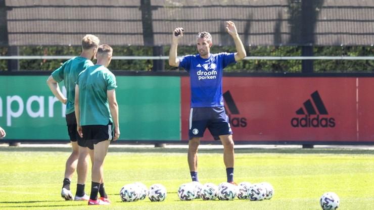 Robin van Persie doradcą trenera Feyenoordu