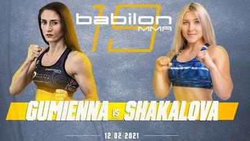 Babilon MMA 19: Róża Gumienna poznała rywalkę
