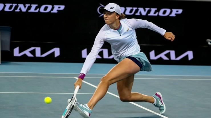 Australian Open: Świątek/Kubot - Sharma/Smith. Relacja na żywo