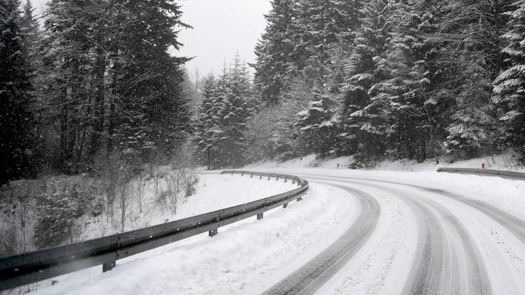 Przejście graniczne w Jakuszycach zamknięte dla ciężarówek. Skutek opadów śniegu