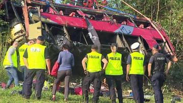 Wypadek w Leszczawie Dolnej. Kierowca autokaru mógł być pod wpływem narkotyków