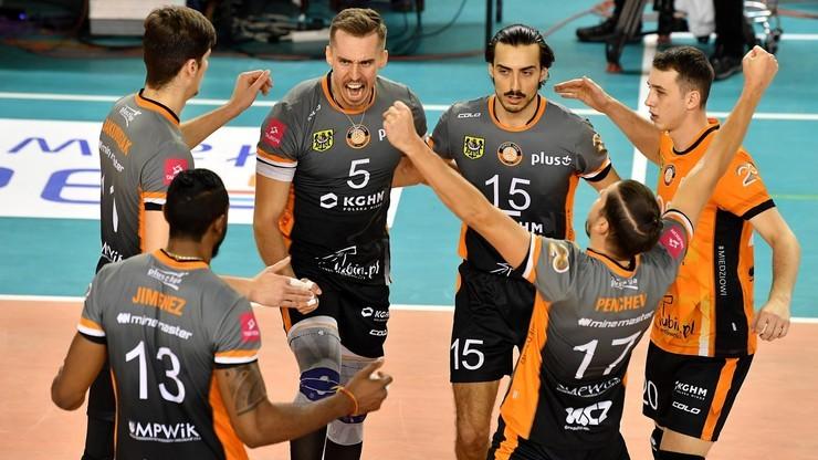 PlusLiga: Ósmy przegrany tie-break Stali! Siatkarze Cuprum Lubin pokonali ekipę z Nysy