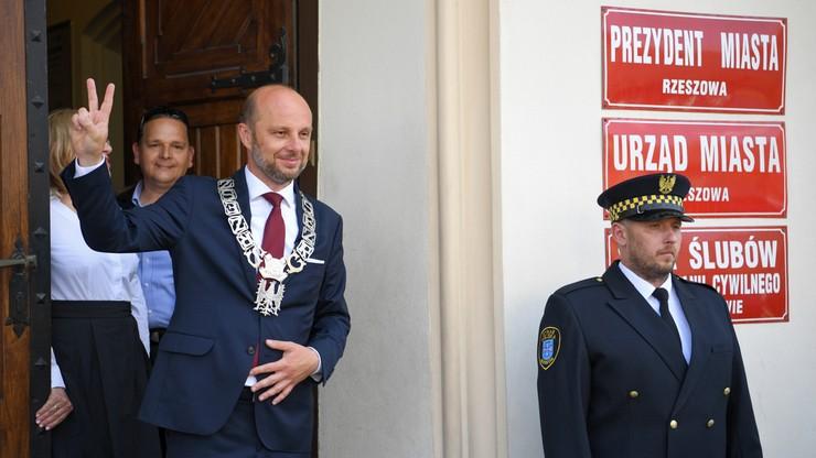 Rzeszów. Konrad Fijołek został zaprzysiężony na prezydenta miasta