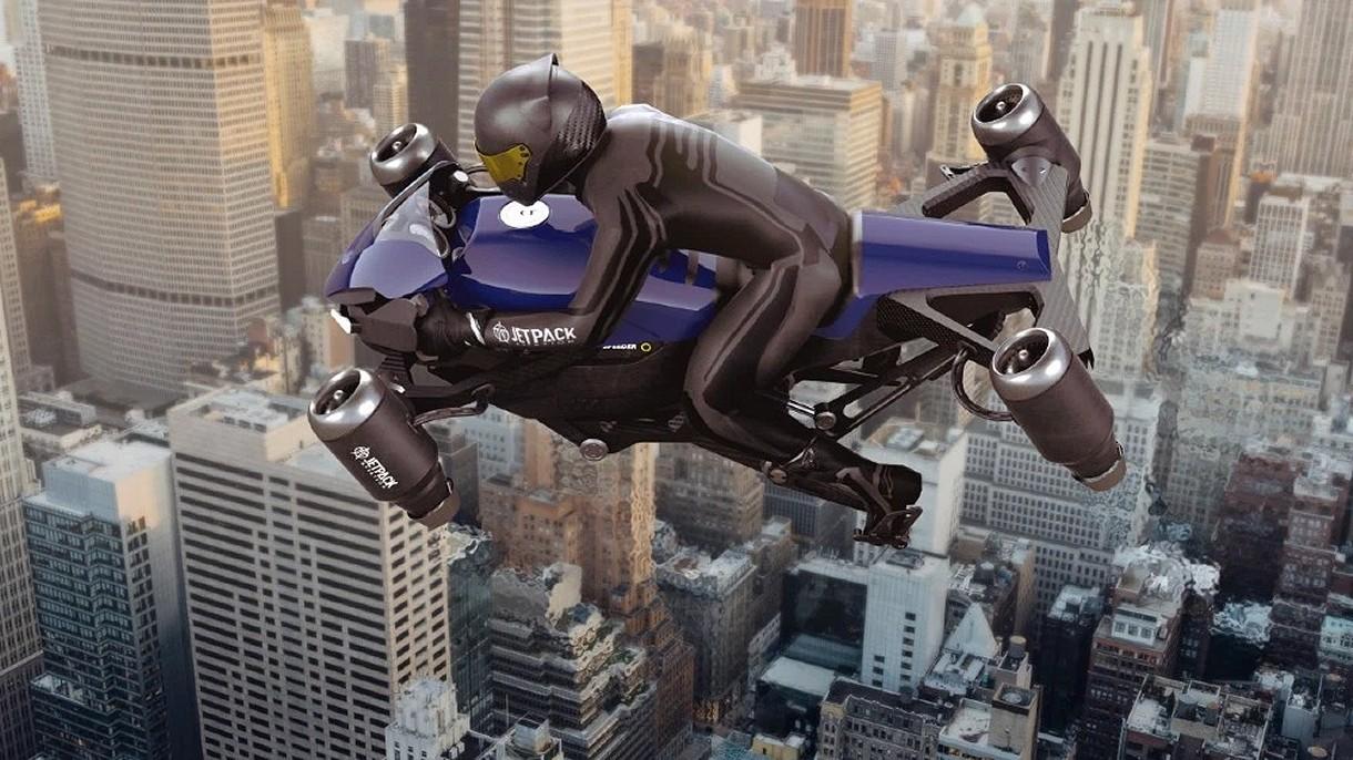 Nadchodzi The Speeder, latający motocykl z napędem odrzutowym dla policji