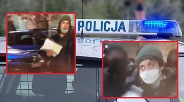 Przemoc wobec dziennikarzy. Policja publikuje wizerunki poszukiwanych
