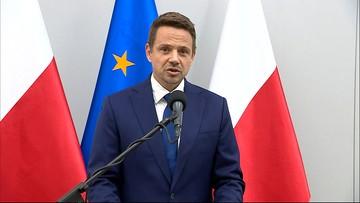 Deklaracja Trzaskowskiego w sprawie debaty wyborczej TVP w Końskich