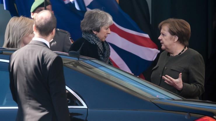 """Merkel spotkała się z May w Berlinie. """"Możliwe przesunięcie brexitu do końca 2019 r"""""""