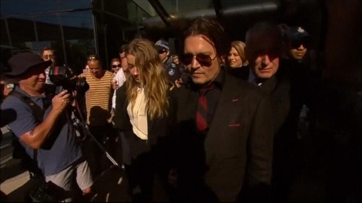 """Johnny Depp i Amber Heard rozwodzą się. """"Różnice nie do pogodzenia"""""""