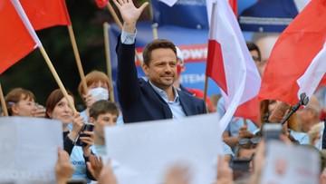 Trzaskowski: prezydent proponuje koalicję na trzy dni przed wyborami