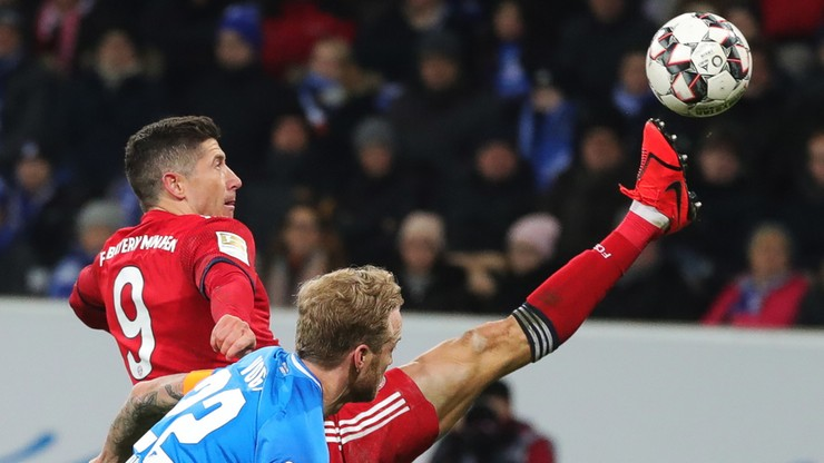 Błysk i gol Lewandowskiego. Bayern lepszy od Hoffenheim