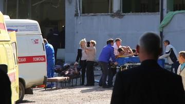 """Krym: tragiczny bilans ataku na szkołę. Sprawcą """"zamknięty w sobie"""" nastolatek"""