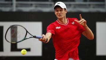 Turniej ATP w Rzymie: Hurkacz awansował do drugiej rundy