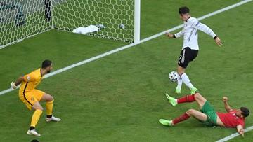 Euro 2020: Portugalia – Niemcy 1:3. Gol Kaia Havertza
