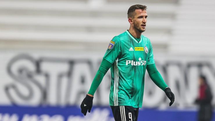 Tomas Pekhart zdyskwalifikowany na trzy mecze Fortuna Pucharu Polski