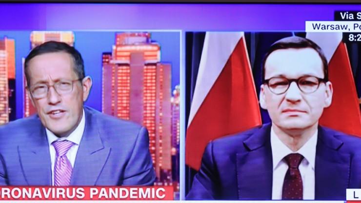 Morawiecki dla CNN: plan ochrony gospodarki będzie skuteczny