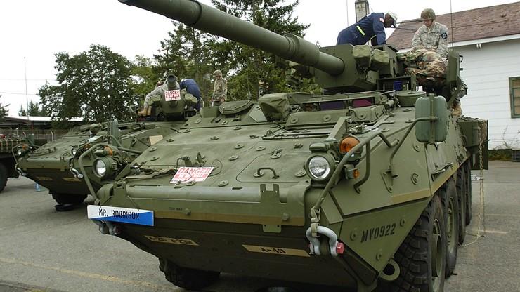Zderzyły się cztery amerykańskie wozy opancerzone na Litwie. 13 żołnierzy rannych