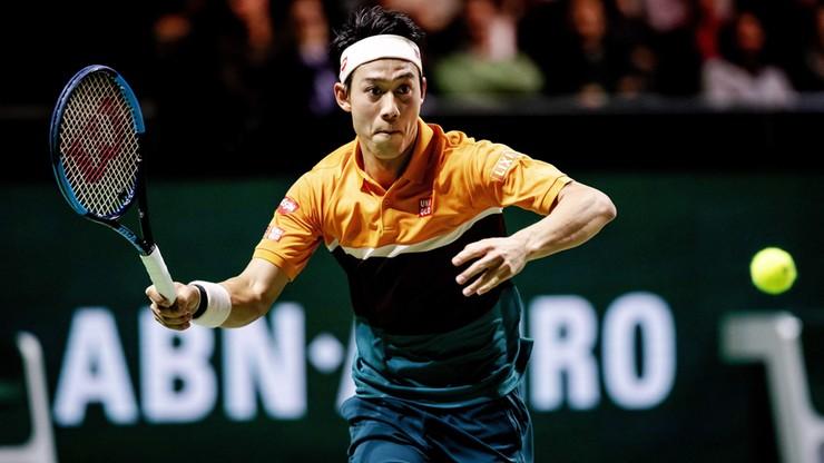 ATP w Rotterdamie: Nishikori w półfinale zmierzy się z Wawrinką