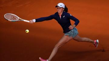 WTA w Madrycie: Świątek w kolejnej rundzie debla